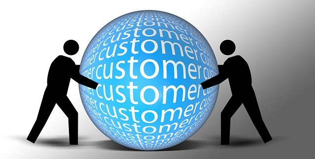 Happy email marketing customers