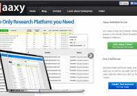 Jaaxy search engine tool