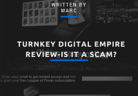 turnkey Digital Empire Scam