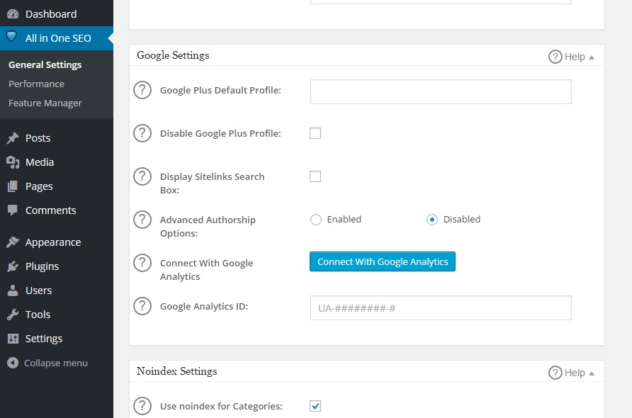 How to connect gooogle analytics with wordpress
