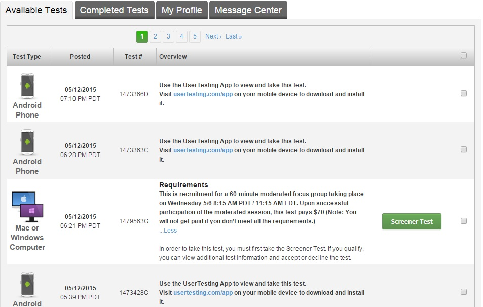 Is User Testing a Scam- A Review From a Tester - Earn ...