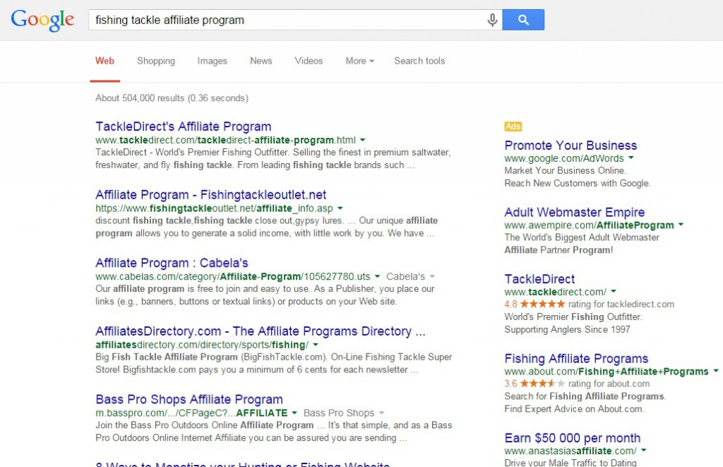 how to find an affiliate program for anything