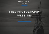 Free Photography Websites