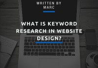 what is keyword research in website design