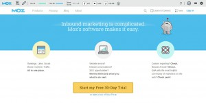 Moz Website Competitive Analysis Tools