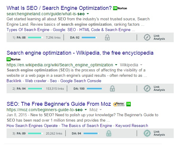 What is keyword research in MOZ