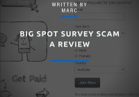 Is Big spot survey a scam