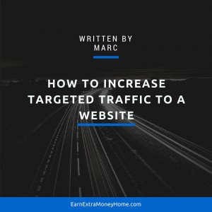 How to increase traffic to a website