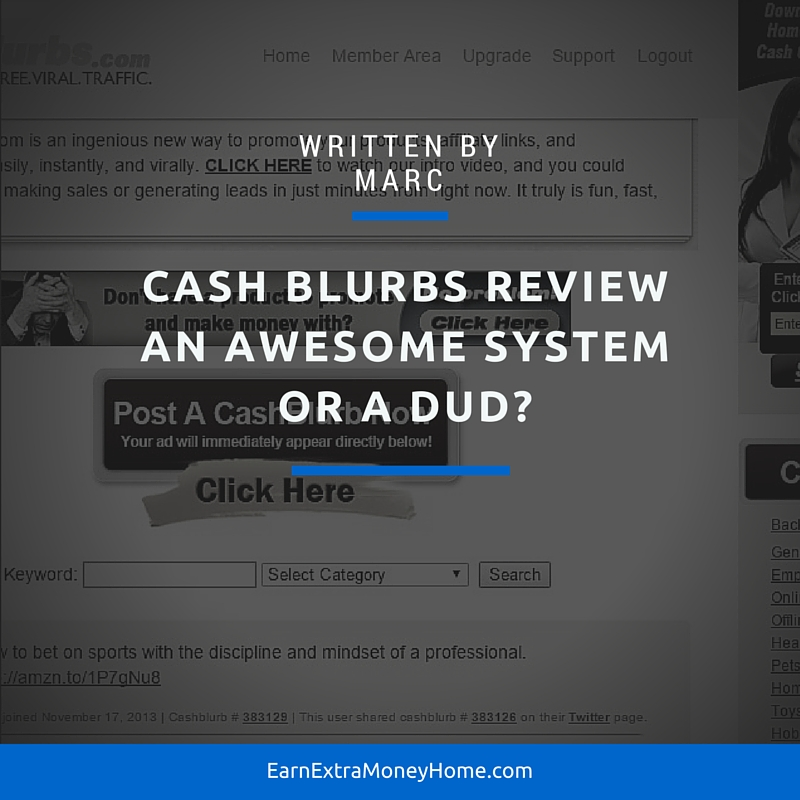 Cash Blurbs legit or scam