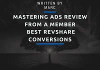 Mastering ads review from a member best revshare conversions