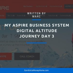 Digital Altitude Aspire Business Program Journey Day 3