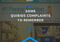 Some Quibids complaints to remember
