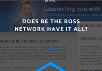 does be the boss network have it all