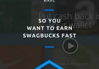So You Want to Earn Swagbucks Fast