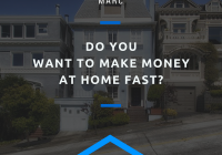 Do You Want to Make Money at Home Fast