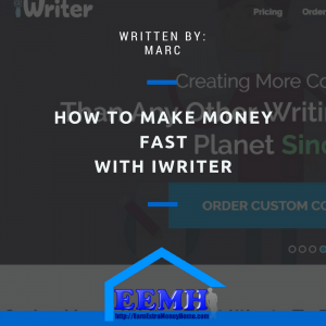 How to Make Money Fast with iWriter