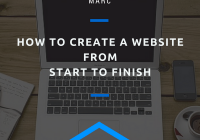 How to Create a Website From Start to Finish
