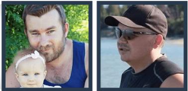 Mark Barrett and Paul Prissick