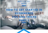 How to get Started in Ecommerce-Tips and Tricks Part 1