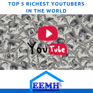 Top 5 Richest YouTubers in The World