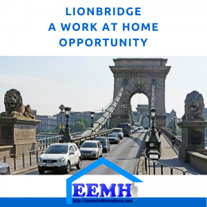 Lionbridge a Work at Home Opportunity